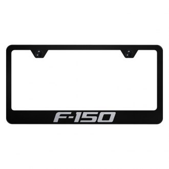 Autogold® - License Plate Frame with Laser Etched F-150 Logo