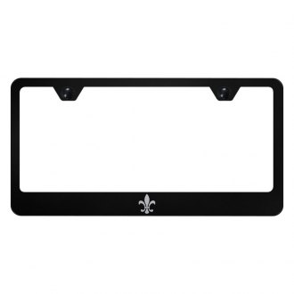 Autogold® - License Plate Frame with Laser Etched Fleur-De-Lis Logo