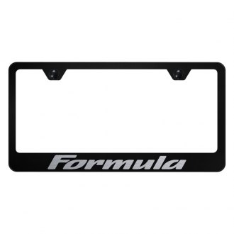 Autogold® - License Plate Frame with Laser Etched Formula Logo