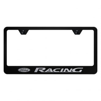 Autogold® - License Plate Frame with Laser Etched Ford Racing Logo