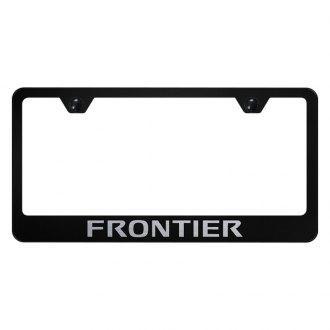 Nissan Frontier Custom License Plate Frame