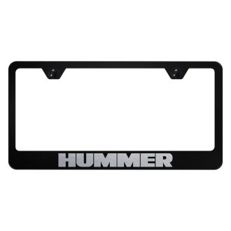 Autogold® - License Plate Frame with Laser Etched Hummer Logo