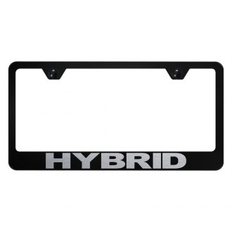 Autogold® - License Plate Frame with Laser Etched Hybrid Logo
