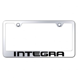Autogold® - License Plate Frame with Laser Etched Integra Logo