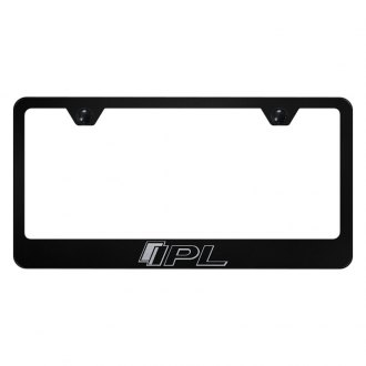 Autogold® - License Plate Frame with Laser Etched IPL Logo