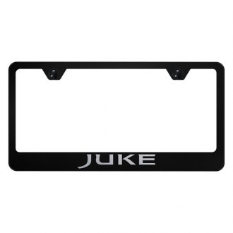 Autogold® - License Plate Frame with Laser Etched Juke Logo