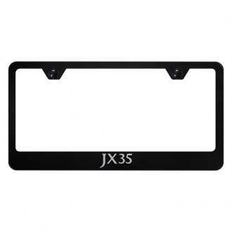 Autogold® - License Plate Frame with Laser Etched JX35 Logo