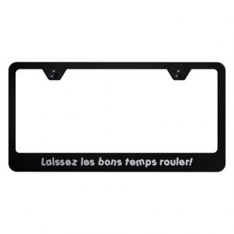 Autogold® - License Plate Frame with Laser Etched Laissez Logo