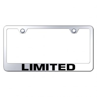 Autogold® - License Plate Frame with Laser Etched Limited Logo
