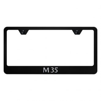 Autogold® - License Plate Frame with Laser Etched M35 Logo
