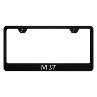 Autogold® - License Plate Frame with Laser Etched M37 Logo