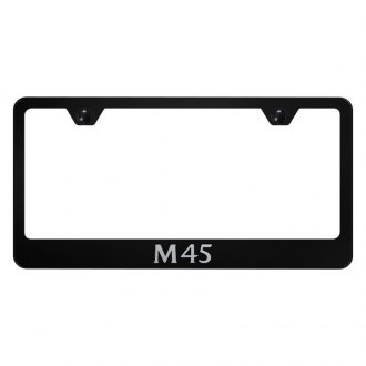 Autogold® - License Plate Frame with Laser Etched M45 Logo