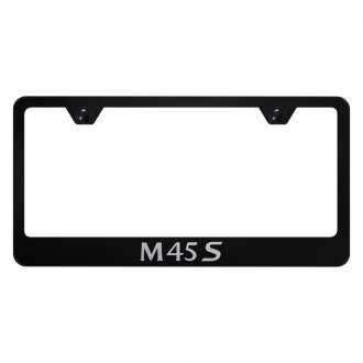 Autogold® - License Plate Frame with Laser Etched M45S Logo