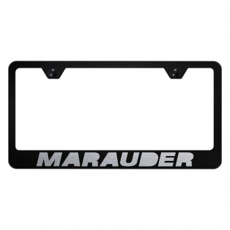 Autogold® - License Plate Frame with Laser Etched Marauder Logo