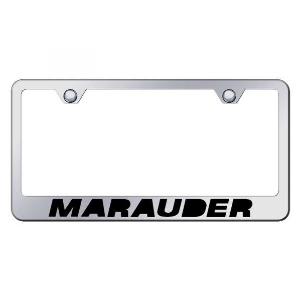 Autogold® - License Plate Frame with Laser Etched Marauder Logo