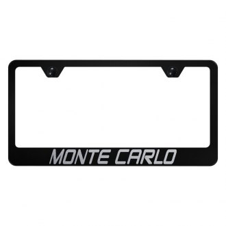 Autogold® - License Plate Frame with Laser Etched Monte Carlo Logo