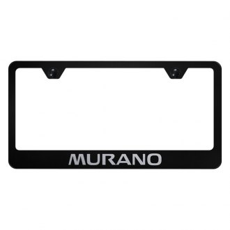 Autogold® - License Plate Frame with Laser Etched Murano Logo