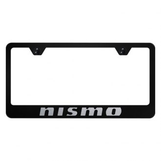 Autogold® - License Plate Frame with Laser Etched Nismo Logo