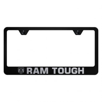 Autogold® - License Plate Frame with Laser Etched RAM Tough Logo