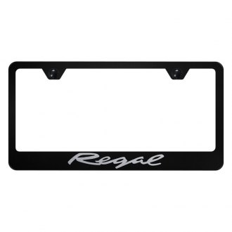 Autogold® - License Plate Frame with Laser Etched Regal Logo