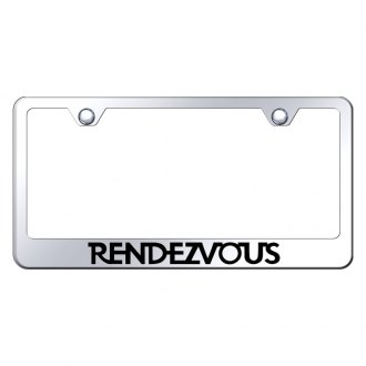 Autogold® - License Plate Frame with Laser Etched Rendezvous Logo