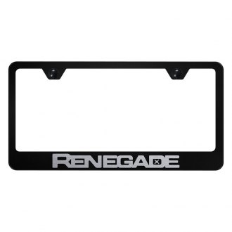 Autogold® - License Plate Frame with Laser Etched Renegade Logo