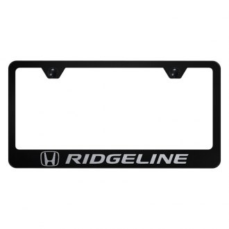 Autogold® - License Plate Frame with Laser Etched Ridgeline Logo