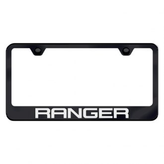 Autogold® - License Plate Frame with Laser Etched Ranger Logo