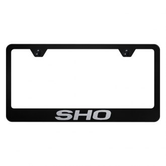 Autogold® - License Plate Frame with Laser Etched SHO Logo