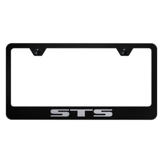 Autogold® - License Plate Frame with Laser Etched STS Logo