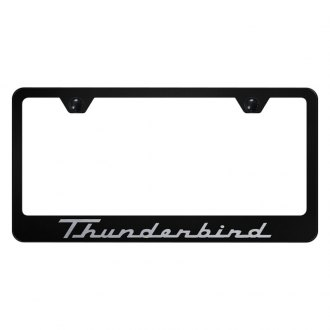 Autogold® - License Plate Frame with Thunderbird Logo