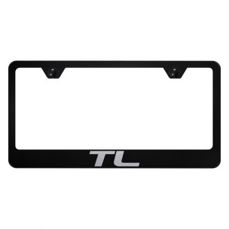Autogold® - License Plate Frame with Laser Etched TL Logo