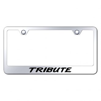 Autogold® - License Plate Frame with Laser Etched Tribute Logo