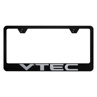 Autogold® - License Plate Frame with Laser Etched VTEC Logo