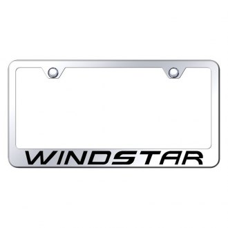 Autogold® - License Plate Frame with Laser Etched Windstar Logo