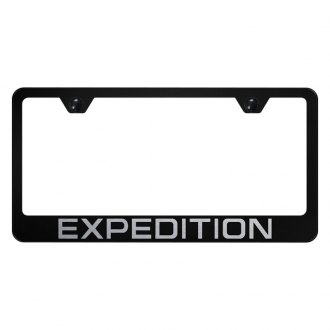 Autogold® - License Plate Frame with Laser Etched Expedition Logo