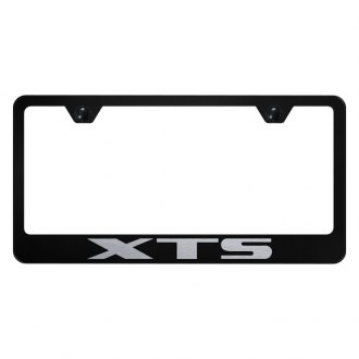 Autogold® - License Plate Frame with Laser Etched XTS Logo