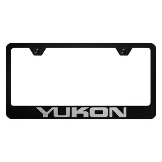 Autogold® - License Plate Frame with Laser Etched Yukon Logo