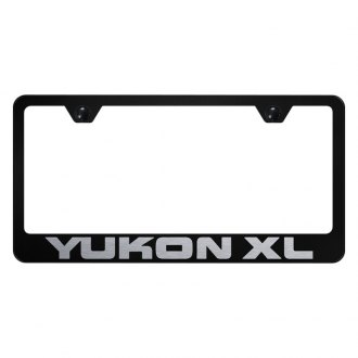 Autogold® - License Plate Frame with Laser Etched Yukon XL Logo