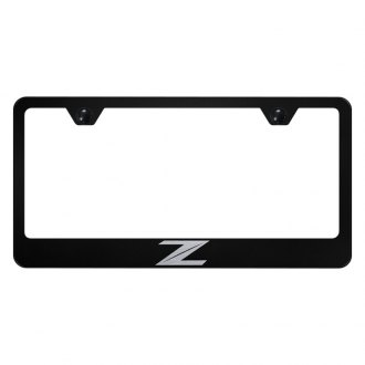 Autogold® - License Plate Frame with Laser Etched Z New Logo