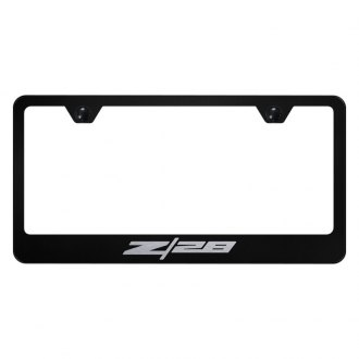 Autogold® - License Plate Frame with Laser Etched Z28 Logo