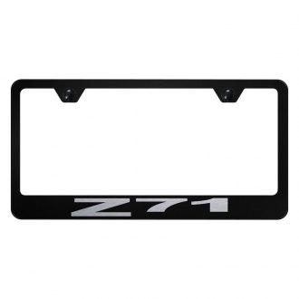 Autogold® - License Plate Frame with Laser Etched Z71 Logo
