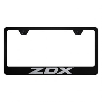 Autogold® - License Plate Frame with Laser Etched ZDX Logo