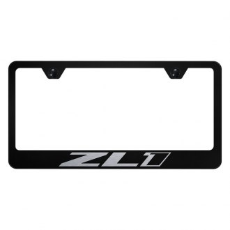 Autogold® - License Plate Frame with Laser Etched ZL1 Logo