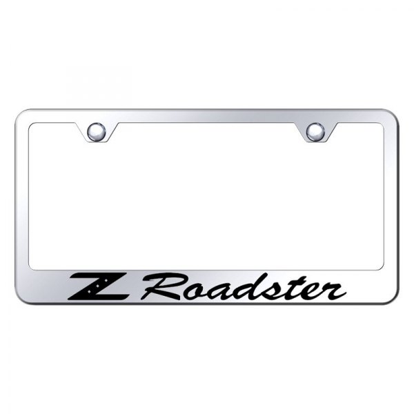 Autogold® - License Plate Frame with Laser Etched Z Roadster Logo