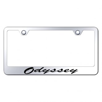 Autogold® - License Plate Frame with Script Laser Etched Odyssey Logo