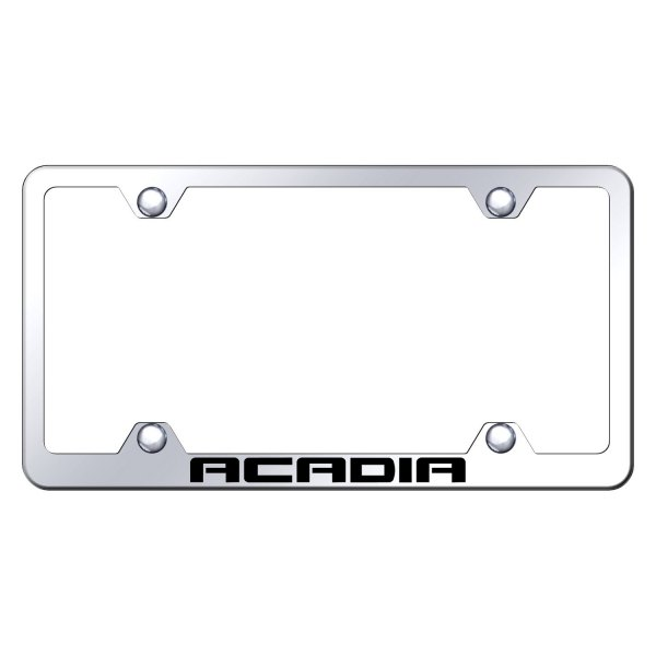 Autogold® - Wide Body License Plate Frame with Laser Etched Acadia Logo