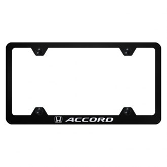 Autogold® - Wide Body License Plate Frame with Laser Etched Accord Logo