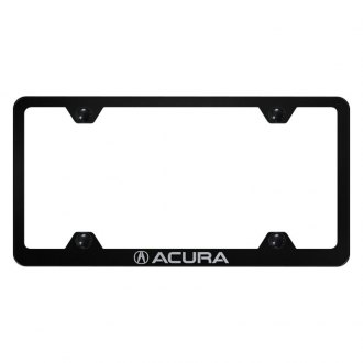 Autogold® - Wide Body License Plate Frame with Laser Etched Acura Logo and Emblem