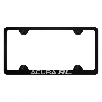 Autogold® - Wide Body License Plate Frame with Laser Etched Acura RL Logo